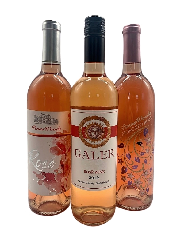 Think Pink, Drink Pink Rosé Tasting Pack
